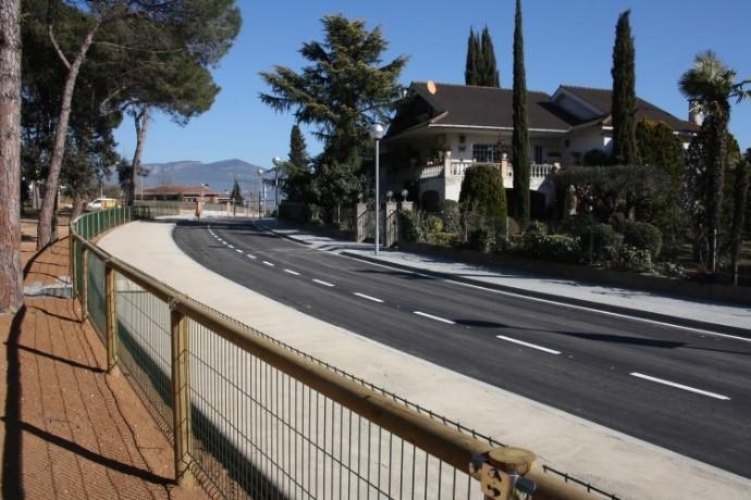 Finalitzem satisfactòriament les obres de reforma d'urbanització del carrer Forn al municipi de Sta. Eulàlia de Ronçana