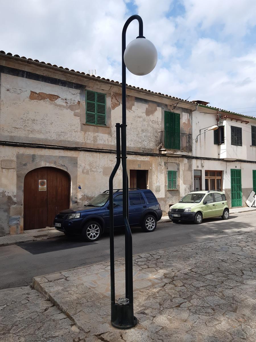 GESA SL. autora del projecte de renovació de l'enllumenat públic de Campos a Mallorca