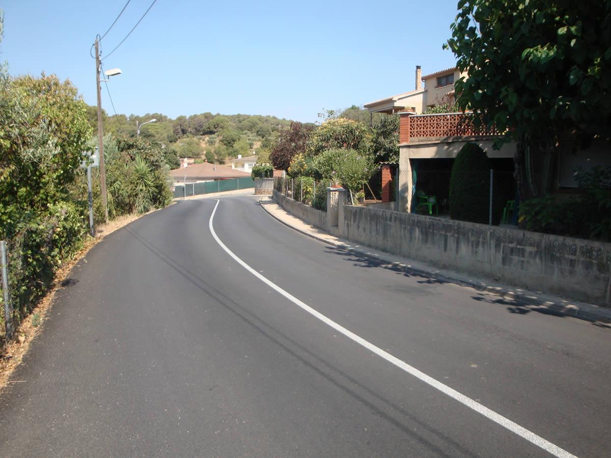 GESA, adjudicatària del Projecte de millora de la seguretat viària del Camí de Caldes, entre el Camí de Can Costa i el Camí del Mas